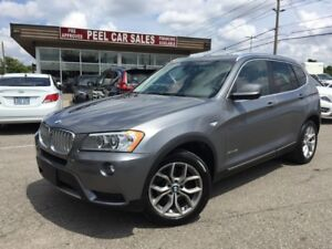 2014 BMW X3 xDrive28i|PANOROOF|CLEAN CARPROOF|
