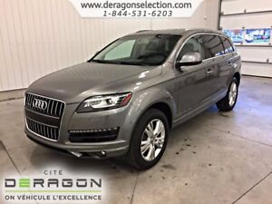 2013 Audi Q7 PREMIUM ACCIDENT FREE+7 SEATERS+BACK-UP CAMERA