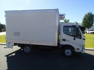 Hino Dutro Chiller Truck on Car Liscence Welshpool Canning Area Preview