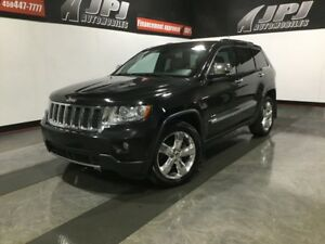 2013 Jeep Grand Cherokee V8-OVERLAND-CAM RECUL-CUIR-GPS-TOIT PAN