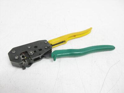 Amp 169400 Certi-lok Hand Tool Crimper 404 Die Pidg Plasti-grip Terminals
