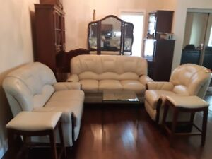 Brand new leather couches