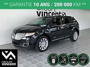 2013 Lincoln MKX LIMITED AWD **GARANTIE 10 ANS**