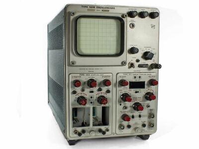 Tektronix 561b Oscilloscope Type 352 Sampling 3t2 Random Sweep - As Is Parts