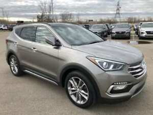 2017 Hyundai Santa Fe Sport Limited 2.0T- AWD, Turbo, Leather!!
