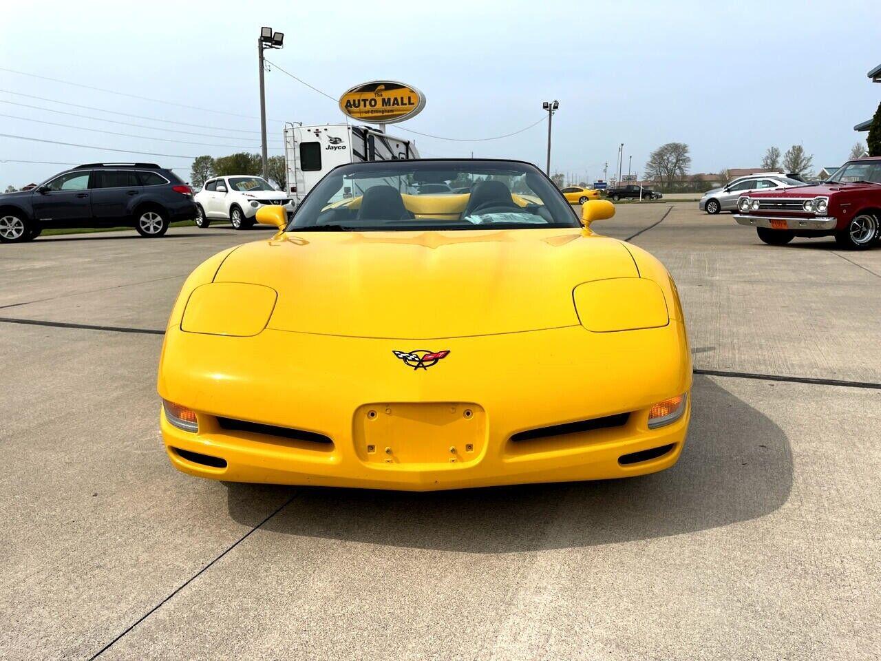 2004 Yellow Chevrolet Corvette Convertible    C5 Corvette Photo 2