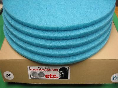 Aqua Burnishing Floor Pads - 5 ETC AQUA PLUS BURNISHING PADS 24
