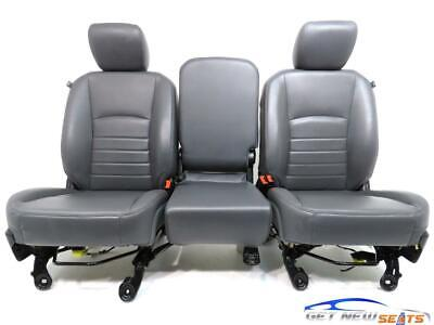 Dodge Ram Vinyl Seats 2009 2010 2011 2012 2013 2014 2015 2016 2017 2018