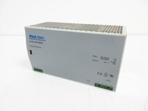 ALTECH CORP PSP-480S24 SWITCHING REGULATOR POWER SUPPLY AC-DC 24V 20A