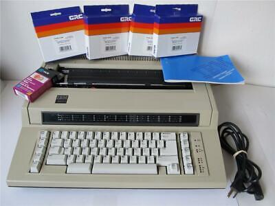 Ibm Actionwriter 1 Electric Typewriter Wnib Ribons Manual