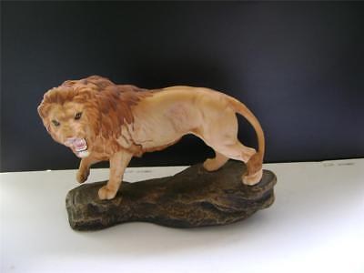 Perfect Lion on Rock - Model 2554A by Beswick.