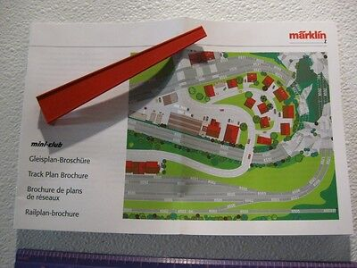 Z - Marklin 8974 Railer +Track Plan Brochure  NEW