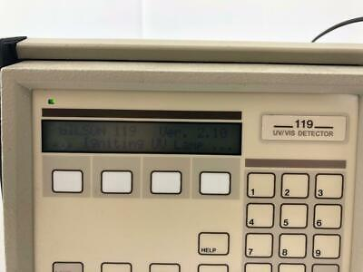 Gilson 119 Uvvis Hplc Detector Powers On