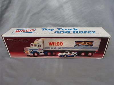 New in Box 1993 Wilco Toy Truck & Racer, Hess tires, Collectible, Expedited Ship