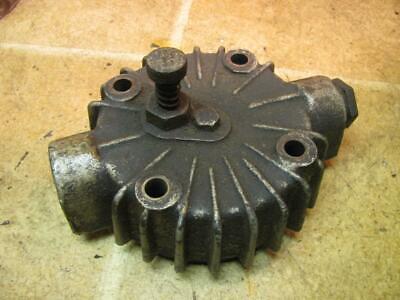 Worthington S11 Air Compressor Cylinder Head W Valves 2-12 Bore