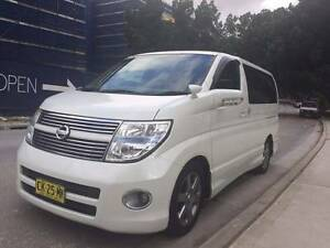 2008 Nissan Elgrand Highwaystar E51 Auto PE51 Wagon Ryde Ryde Area Preview