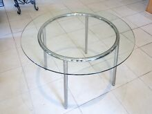 Round Glass Top/Chrome Table Hope Island Gold Coast North Preview