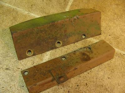 Minneapolis Moline Mm M670 Gas Tractor Hydraulic Power Steering Line Covers