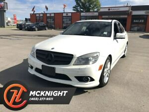 2010 Mercedes Benz C-Class C300 4MATIC / Leather / Sunroof
