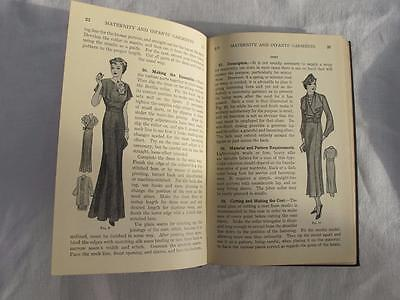 Vintage Dress Making Book 1920s Womans Institute Childrens Maternity Clothing