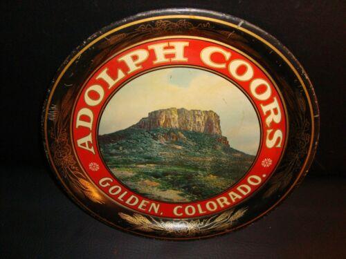Circa 1900 Adolph Coors Tray, Golden, Colorado