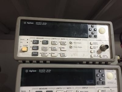 Agilent53181ahp53181a With 010rf Frequency Counter
