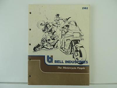 1982 Bell Motorcycle Parts And Accessories Manual Suzuki Yamaha Honda L7155