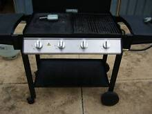 BBQ 4 BURNER WITH LID + GAS + COVER + COOKING TOOLS AND CLEANER Ingle Farm Salisbury Area Preview