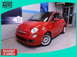 2012 Fiat 500 SPORT TOIT MAGS BLUETOOTH ECONOMIC CAR