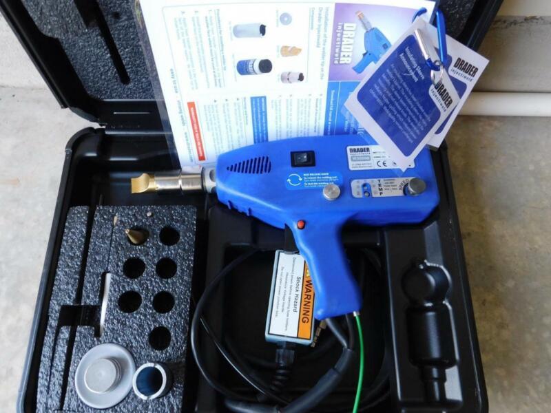 DRADER W3000 INJECTIWELD EXTRUSION WELDER PLASTIC WELDING