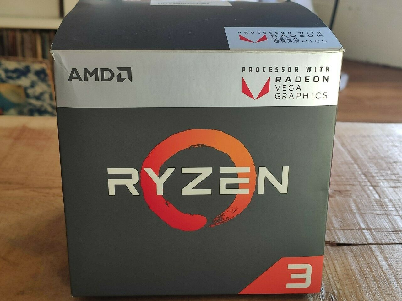 Amd ryzen 3 2200g 3,5ghz quad core socket am4 processeur (yd2200c5fbbox)