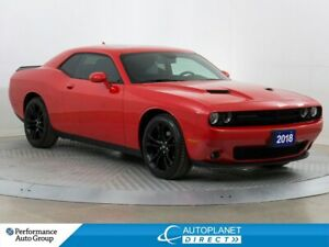 2018 Dodge Challenger SXT+, Blacktop Pkg, Back Up Cam, Apple Car
