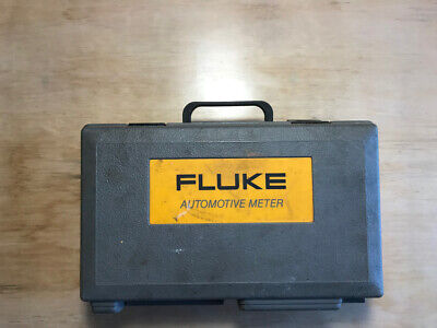 Fluke Et-88 Dmm Multimeter In Partnership With Mac Tools Used Working