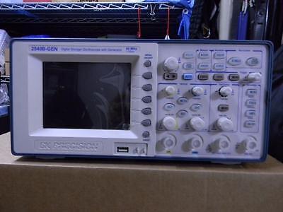Bk Precision 2540b-gen  60 Mhz 1 Gsas Oscope W Generator Calibrated