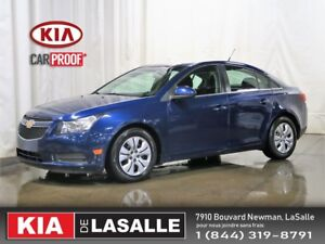 2013 Chevrolet Cruze LT Turbo  // Cruise // Air // Bluetooth...