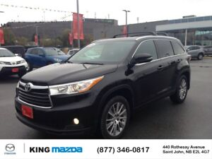 2015 Toyota Highlander XLE 7 PASS...AWD...LEATHER..GPS/NAV...NEW
