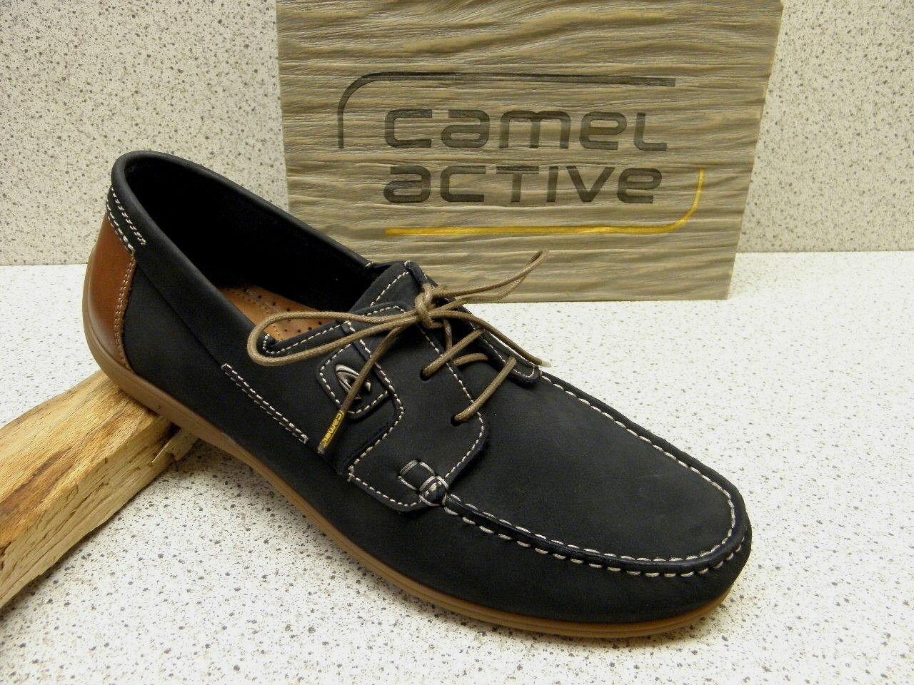 camel active ® reduziert bisher 99,95 € Bootschuhe Docksider Yacht blau  (C67) 0c28319a2c2