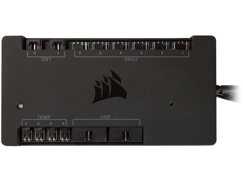 Corsair CL-9011110-WW Digital Fan and RGB Lighting Controller