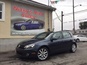 2012 Volkswagen Golf 2.5 - HIGHLINE - AUTOMATIC - LEATHER - SUNR
