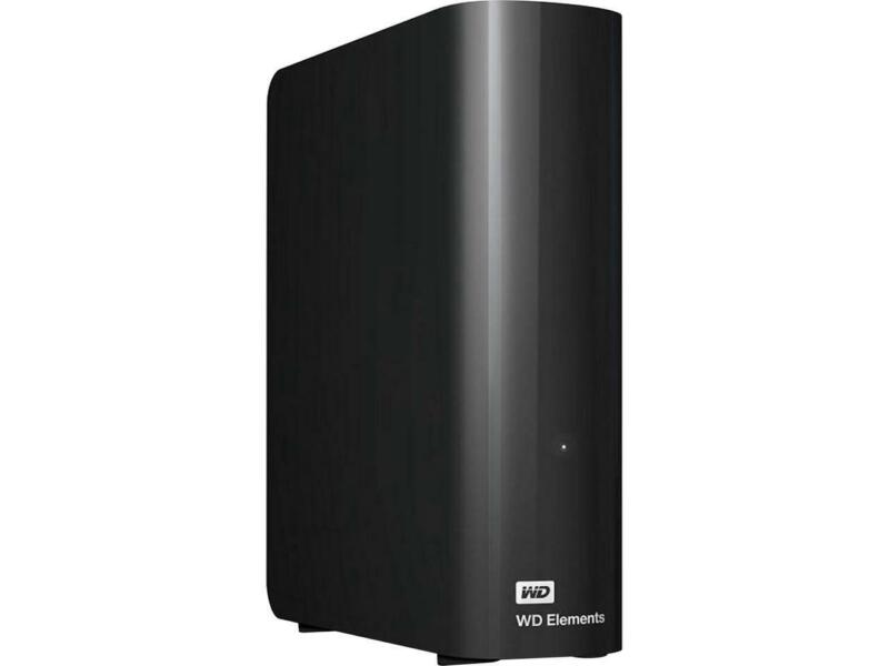 WD Elements 14TB USB 3.0, Micro-B Desktop Hard Drive WDBWLG0140HBK-NESN Black