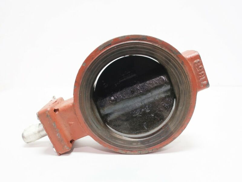 Pratt MK2 Butterfly Valve Iron 150 Wafer 6in