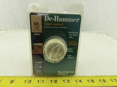 Pass Seymour Legrand 94004-lav De-hummer Fan Control Switch
