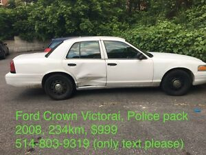 Ford Crown Victorai, Police pack 2008, 234km