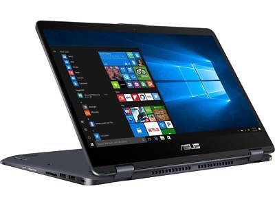 "NEW ASUS VivoBook TP410UA-DB51T 14"" Touch Laptop i5-7200U 2.5GHz 6GB 1TB WIN10"