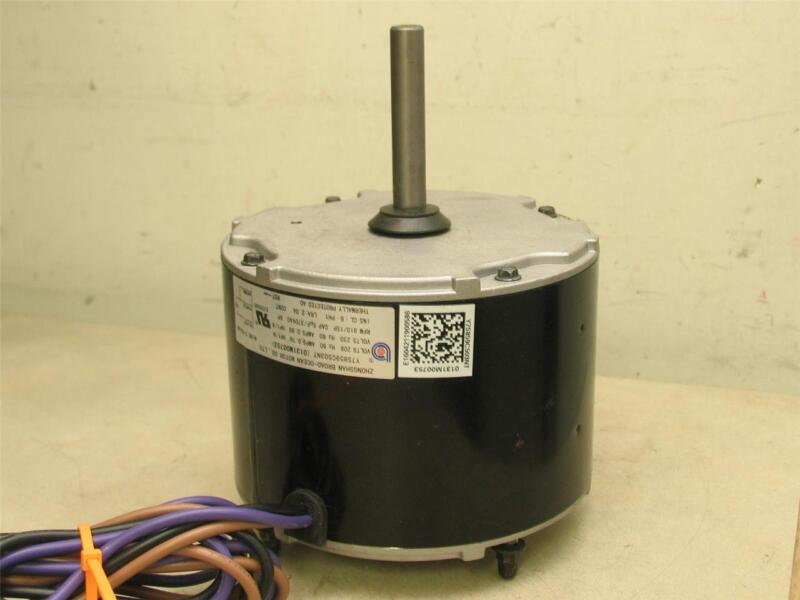 ZHONGSHAN BROAD-OCEAN 0131M00753 Condenser Fan Motor 208-230V Y7S859C503NT