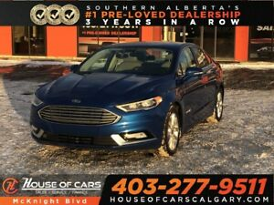 2017 Ford Fusion Hybrid SE / Leather / Back Up Cam / Heated seat