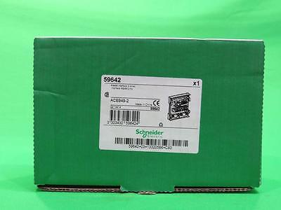 Lot of 11 N.I.B Schneider Electric ACE949-2 Sepam RS485 Interface 2 Wires