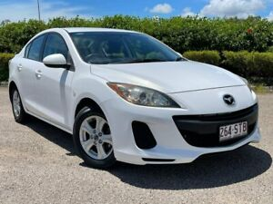 2012 Mazda 3 BL10F2 Neo White 6 Speed Manual Sedan Garbutt Townsville City Preview