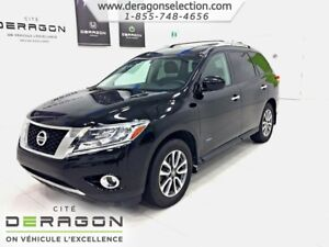 2014 Nissan Pathfinder SV HYBRIDE+AWD+7 PLACES+CAMÉRA 7 SEATERS