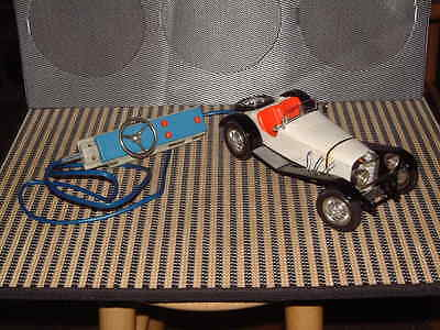 GAMA MERCEDES 1928 SSK TETHERED R/C, DIE-CAST CHASSIS. 1:21 SCALE CAR. WORKING!!